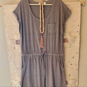 Cinched Waist Maxi Dress